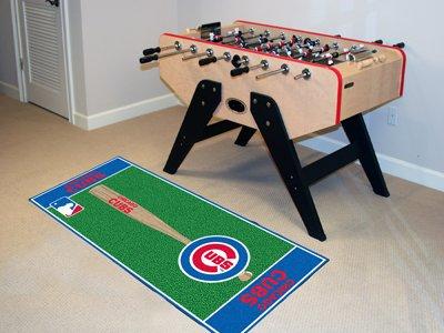 Fanmats Chicago Cubs Baseball Runner - Runner Rug Baseball