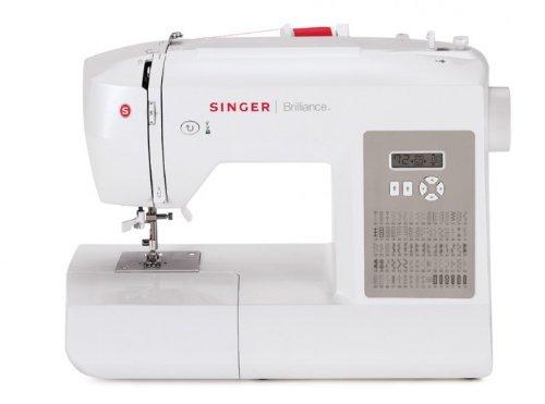 Brilliance 6180 Sewing Machine - White-Singer