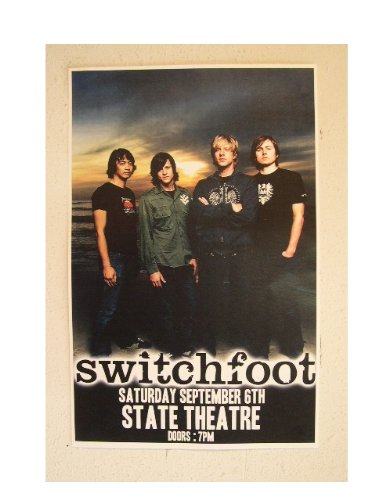 - Switchfoot Poster Handbill Band Shot Switch Foot