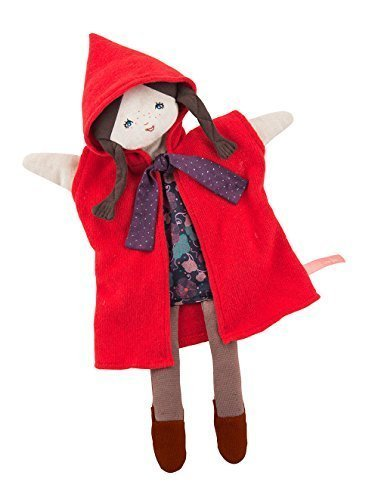 (Moulin Roty Red Riding Hood hand puppet)