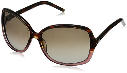 Marc Jacobs Women's Marc68s Rectangular Sunglasses, Burgundy Havana/Brown Gradient, 59 - Red Sunglasses Marc Jacobs
