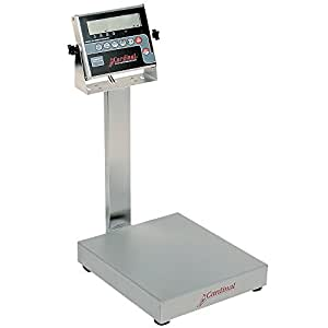 Cardinal Detecto EB-150-204 150 lb. Electronic Bench Scale with 204 Indicator, Legal for Trade
