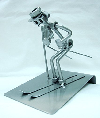 UPC 736631234346, Table METAL STATUE - SKI STATUE Built from METAL Parts by PB Swiss
