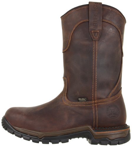 Irish Setter Men's 83906 Wellington Steel Toe Work Boot,Brown,10 D US
