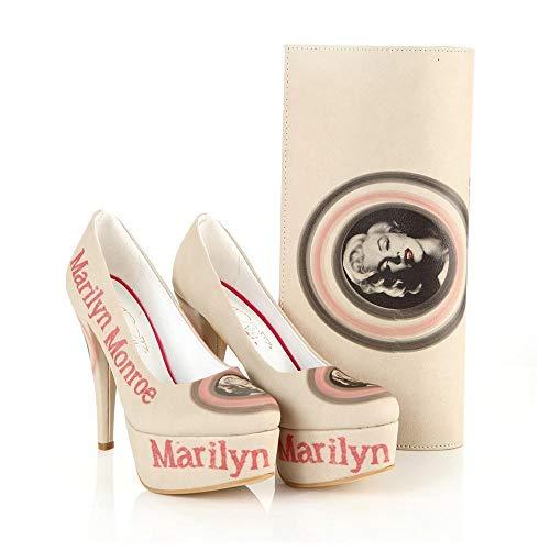 Marilyn Monroe Platform Shoes and Bag Set ST7007