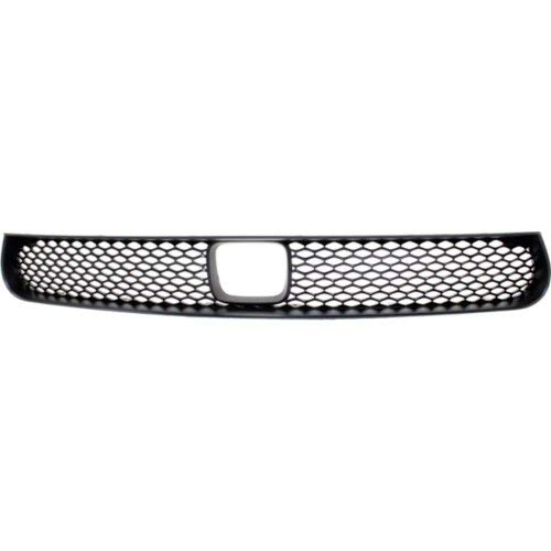 Bumper Grille for DODGE CHARGER 2015-2017 Center Textured Black with Hood Scoop and ()