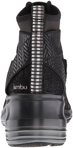 Jambu Women's Offbeat Ankle Bootie Black Shimmer w3EFC3W4