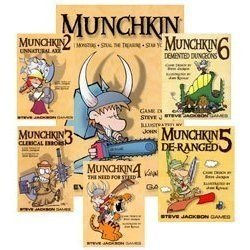 Original Munchkin Bundle 1 Through 6 by Steve Jackson Games