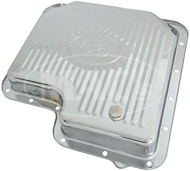 Chrome Finned Design C6 Automatic Transmission MACs Auto Parts 60-17855 Transmission Pan