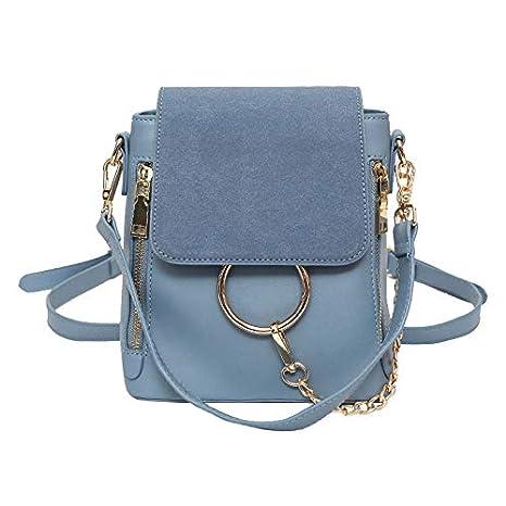 55b9ac4173 Onemoret lusso catene zaini donne PU mini zaino da donna designer borsa a  spalla piccola borsa