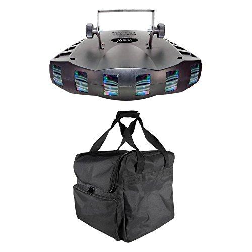 Chauvet DJ Derby X DMX-512 LED RGB Strobe DJ Lighting Effect + Transport Case by CHAUVET DJ