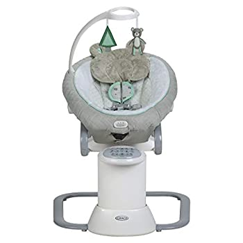 Image of Baby Graco EveryWay Soother Baby Swing with Removable Rocker, Tristan