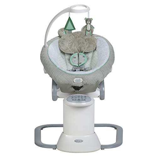 Graco EveryWay Soother Baby Swing with Removable Rocker, Tristan (Best Way To Soothe A Baby)