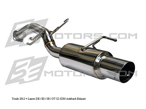 Tsudo 2012 13 14 15 16 Mitsubishi Lancer 4dr 5dr De Es Gt S2 JDM Axle Back Exhaust Muffler ()