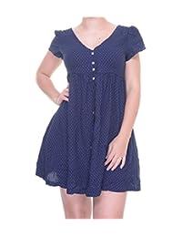 Denim & Supply Ralph Lauren Women's Star Shirt Dress Blue XS