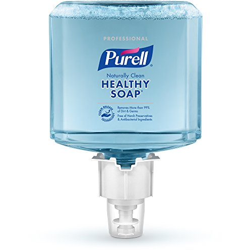 (PURELL ES4 Professional HEALTHY SOAP Naturally Clean Foam Refill, Citrus Fragrance, 120 0mL Soap Refill for PURELL ES4 Push-Style Dispenser (Pack of 2) - 5071-02)