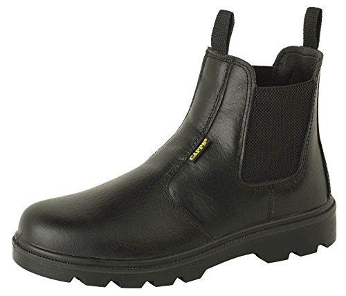 Deltaplus - Calzado de protección para hombre negro - negro