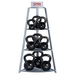 SPRI Steel Kettle Bell Rack