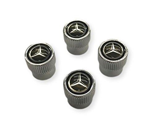 Mercedes Benz Tire Valve Stem Cap - Black