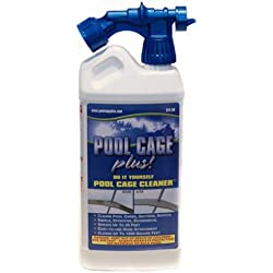 POOL CAGE PLUS LLC W-1 Not Applicable 40Oz pool Cage Cleaner