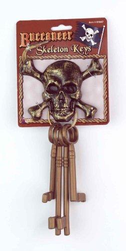 Forum Novelties 61647 Buccaneer Skeleton - Pirate Key