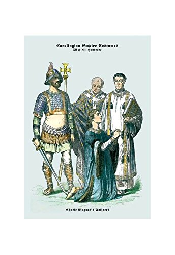 (Buyenlarge Carolingian Empire Costumes: Charlemagne's Soldiers Print (Canvas Giclee)