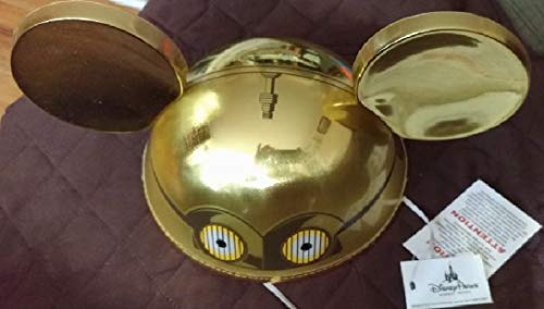 Parks exclusive - Star wars C3PO Gold ear hat for Adults - NWT]()