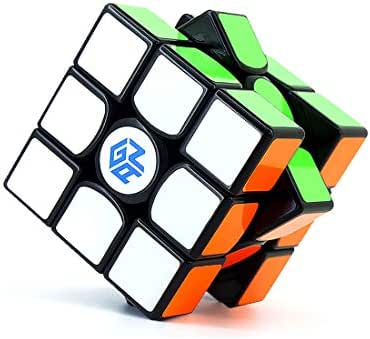GAN 356 Air Master Edition 2019, 3x3 Speed Cube Gans Puzzle Magic Cube with IPG v5 (Black Stickered)