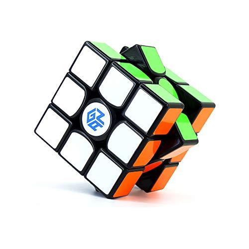 (GAN 356 Air 2019, 3x3 Speed Cube Gans Master Edition Magic Cube (IPG v5, GES v3, Black))