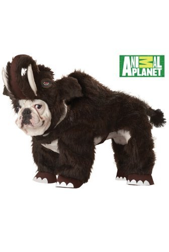 [Animal Planet Wooly Mammoth Dog Costume, Small, Brown by Animal Planet] (Wooly Mammoth Costumes)