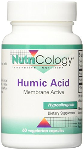 Nutricology Humic Acid Supplement, 60 Count