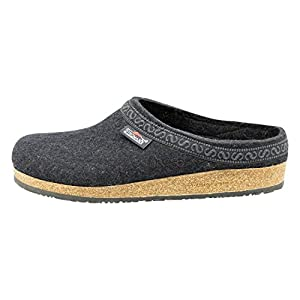 Stegmann Men's Wool Felt Clog with Cork Sole
