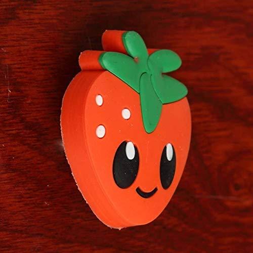 Cute cartoon soft plastic children room furniture safe handle Apple,Crown, Strawberry drawer shoe cabinet knob pull Kid,s knob - (Color: Crown)