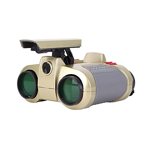 Binocular Telescope Toy , Yamally_9R 4x30 Kids Gifts Spotting Telescope Binoculars For Bird Watching, Hiking and Educational Learning (AAA batteries not included) - Night Do Glasses Vision Really Work