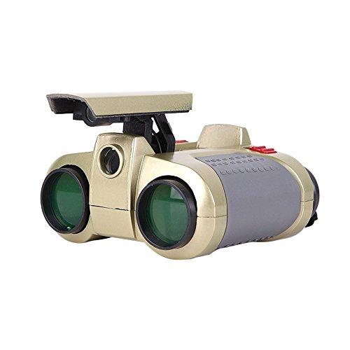 MSOO 4x30 Binocular Telescope Pop-up Light Night Vision Scope Binoculars Novelty Toy (Green)