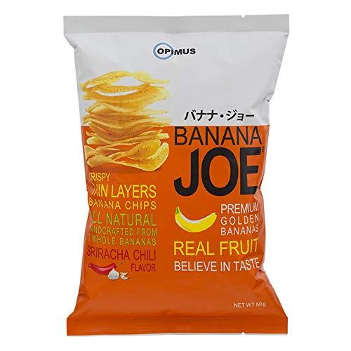 Banana JOE, Crispy Banana Chips 50g X 3 Packs (Chili Flavor)