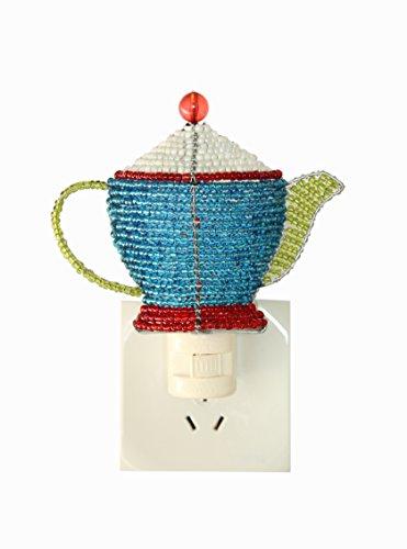 Beaded Teapot Night Light (Beaded Pot)