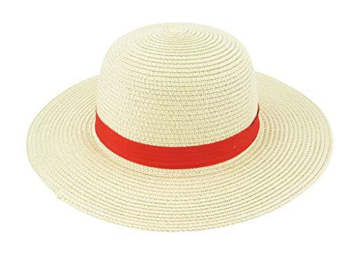 Yarizm Straw Hat Cosplay Costume (Straw) (Hat Luffy)