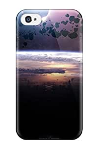 TYH - New Arrival EhSNNnH Pboev Premium Iphone 4/4s Case(asteroids Eclipse) ending phone case