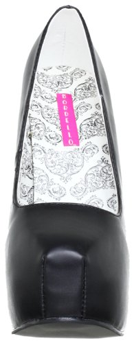 Pleaser EU-TEEZE-06 - Zapatos de tacón de material sintético mujer Noir