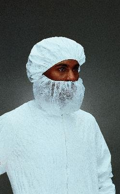 Dupont 9216 Beard Cover, Latex Free (Pack of 250)