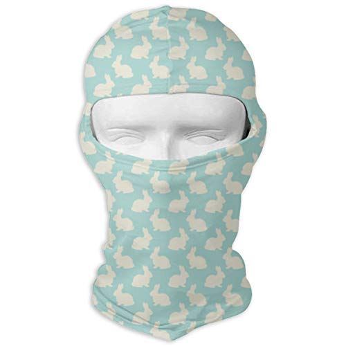 Windproof Balaclava, Bunnies Easter Fabric Ski Mask for