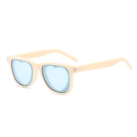 Yangjing-hl Gafas de Sol Moda Lente Cuadrada en Forma de ...