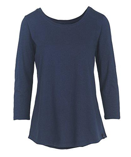 woolrich-womens-first-forks-3-4-sleeve-shirt-deep-indigo-large