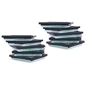 heyzlass (Pack de 10) 17211ZL8023Reemplazo de Filtro de aire para Honda GC160GCV160GC190GCV190GX100GC135GCV135Motor cortacésped