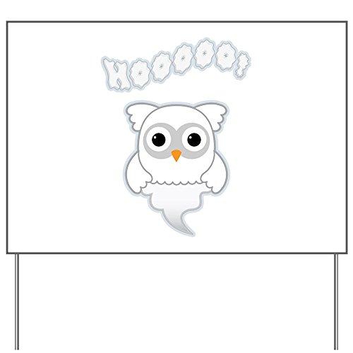 Yard Sign Spooky Little Ghost Owl]()