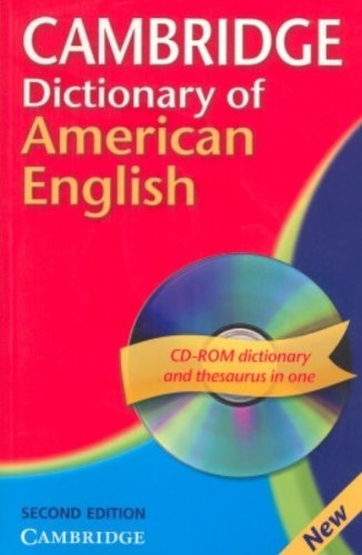 Cambridge Dictionary of American English Camb Dict American Eng with CD 2ed by Carol-June Cassidy (2007-12-10)