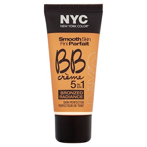 N.Y.C. New York Color BB Creme Foundation Bronze, Light, 1 Fluid Ounce by N.Y.C.