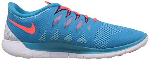 Nike Free 5.0, Herren Laufschuhe Blau (Blue Lagoon/Brght Crmsn-Clearwater 406)