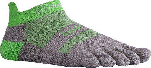 Injinji Men s Run Original Weight No Show Toesocks Fresh Green